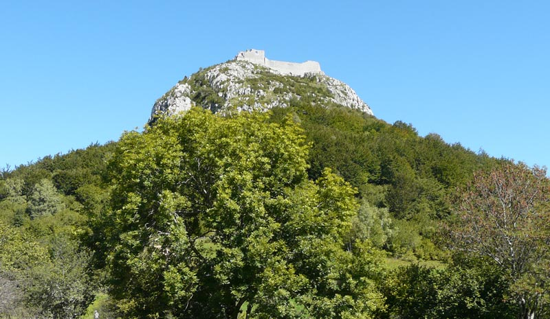 cathar castle of montsegur